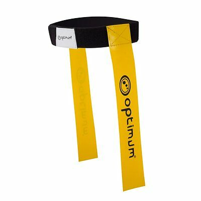 Optimum Sports No Contact Rugby Training Adjustable Tackle Belt With Flags