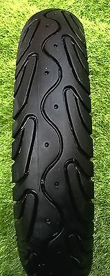 """Front Part Worn Scooter Tyre Vee Rubber 3.00-10 10"""" With Good Tread"""