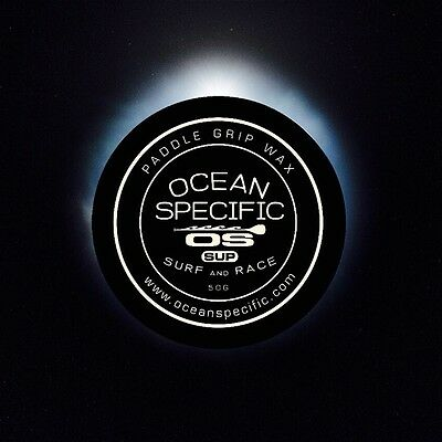 Ocean Specific stand up paddle SUP paddle grip wax 50 gram carbon black