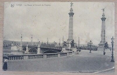 Postcard, Liege, From Harold on Active Service, to H Nowell, Bath, 1919