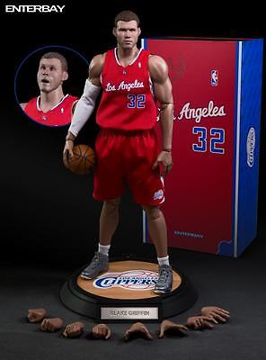 Enterbay 1/6 Nba Collection Real Masterpiece Blake Griffin Clippers Rm1045 Nuovo
