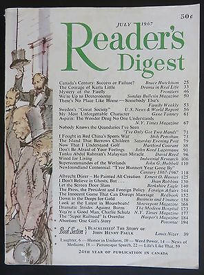 Reader's Digest (Canadian edition) - July 1967 - Canadian Confederation