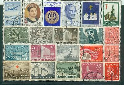 Lot Briefmarken aus Finnland