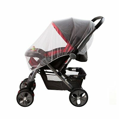 Baby Mosquito Net for Strollers, Carriers, Car Seats, Cradles. Fits Most Cribs,