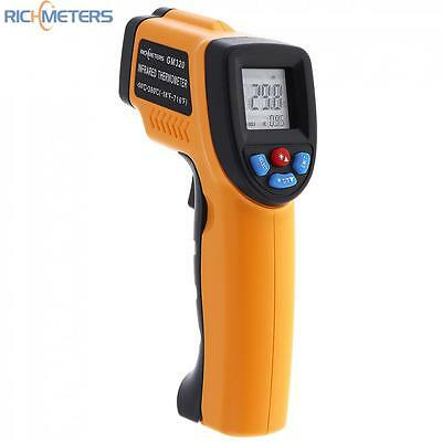 -50 to 380℃ Digital Infrared Laser F/C Thermoneter Non Contact Temperature Meter