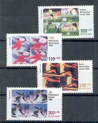 Germany - complete Set of Stamps Year 1998 MNH**