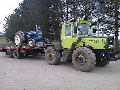 Low Loader Trailer - Tractor/Lorry drag trailer 12 ton