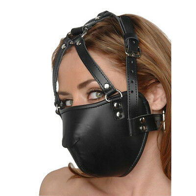 Strict Leather Face Harness - ac334