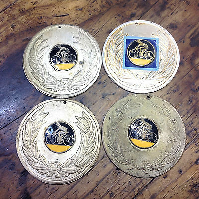 Lot of 4 Vintage Cycling Medals