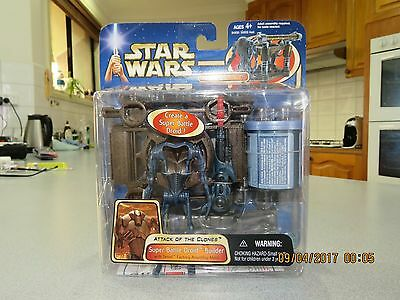 Star Wars Attack of the Clones Super Battle Droid Builder ~ Rare!!