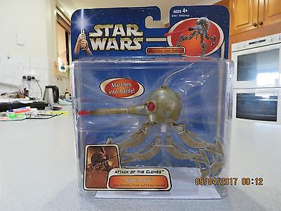 Spider Droid Attack of the Clones Deluxe Star Wars Action Figure ~ RARE!!