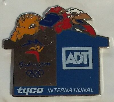 Sydney 2000 Olympic pins - ADT Security TYCO Pin