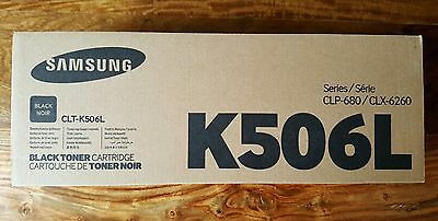 Genuine Samsung Toner Black (CLT-K506L) for CLP680/CLX6260 - New & Sealed