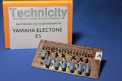 Yamaha Electone  E5 - Lc 40931 ( A ) Board - Placa Lc 40931 ( A )  - Tested