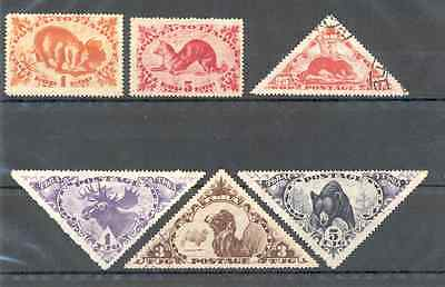 Tannu Touva - Lot of Stamps used and MNG 1935