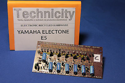 Yamaha Electone  E5 - Lc 40931 ( C ) Board - Placa Lc 40931 ( C )  - Tested
