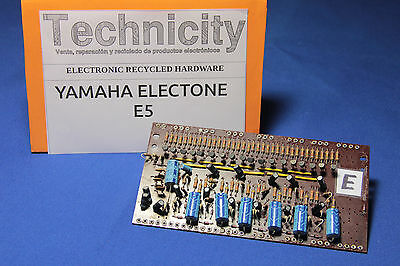 Yamaha Electone  E5 - Lc 40931 ( E ) Board - Placa Lc 40931 ( E )  - Tested