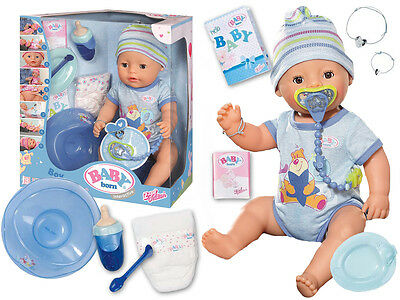 Baby Born Doll Interactive Playset Girls Toy with Accessories BLUE 822012