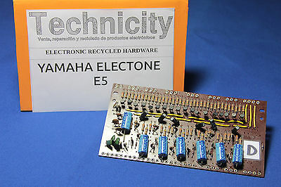 Yamaha Electone  E5 - Lc 40931 ( D ) Board - Placa Lc 40931 ( D )  - Tested