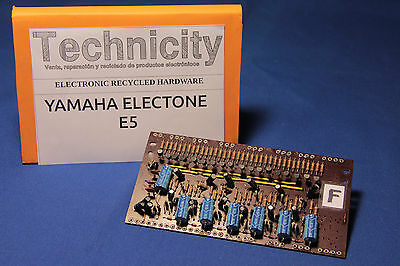 Yamaha Electone  E5 - Lc 40931 ( F ) Board - Placa Lc 40931 ( F )  - Tested