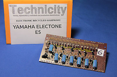 Yamaha Electone  E5 - Lc 40931 ( G ) Board - Placa Lc 40931 ( G )  - Tested