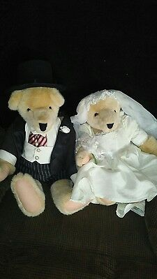 North American Bear Company...BRIDE AND GROOM
