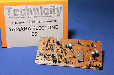 Yamaha Electone  E5 - Lc 21600  Board - Placa Lc 21600  - Tested