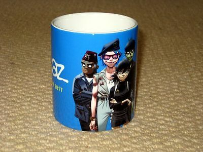 Gorillaz Humanz Tour 2017 Advertising MUG