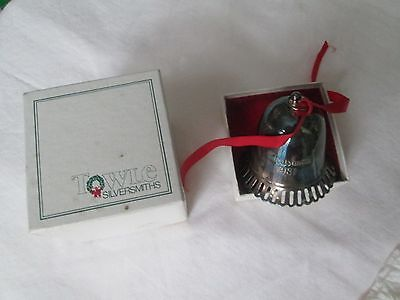 VINTAGE TOWLE SP 1st EDITION 1981 CHRISTMAS BELL/ORNAMENT