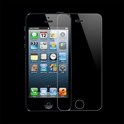 """Tempered Glass Film Screen Protector 4.0"""" For Iphone 5 5S 9H Genuine New Good"""