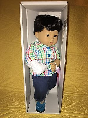 New In Box Single Bitty Twin Black Hair Boy Sold Out Asian American Girl