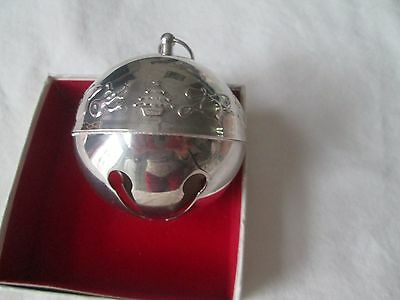 VINTAGE WALLACE SP 1st EDITION 1974 CHRISTMAS BELL ORNAMENT