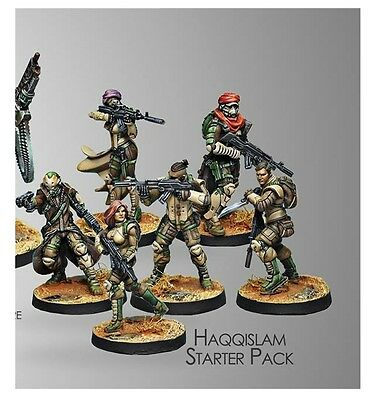 Infinity Corvus Belli Operation Red Veil Haqqislam Starter Pack new