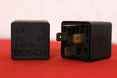 Holden Bosch TWO 4 PIN RELAY 12v 30a 0332014457 92034787-2pc VN to VZ KLR