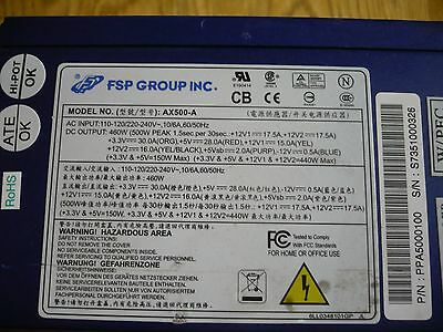 Alimentation PC 500w FSP AX500-A
