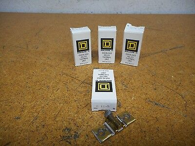 Square D B11.5 Overload Relay Thermal Units New In Box (Lot of 4)