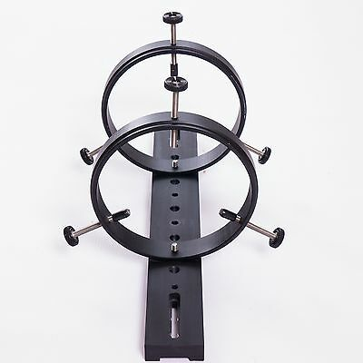 Guidescope Support Rings & Dovetail Bar Set