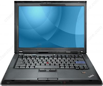 Lenovo ThinkPad T400 Intel Core 2 Duo 2 GB Ram 160 GB HDD Windows 7 Webcam WIFI