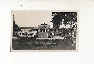 MALAYA 1938 KH6 REAL PHOTOGRAPHIC POSTCARD OLD CASTLE JAHORE 2c RATE.
