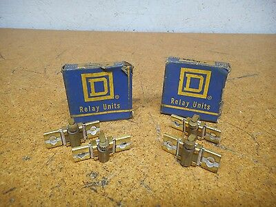 Square D B4.15 Overload Relay Thermal Heater Elements Used Warranty (Lot of 4)