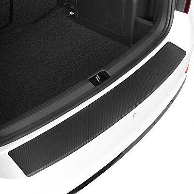 Carbon Style rear Bumper Protector BMW X1