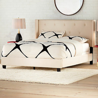 Gill Queen Upholstered Panel Bed Brayden Studio FREE SHIPPING (BRAND NEW)