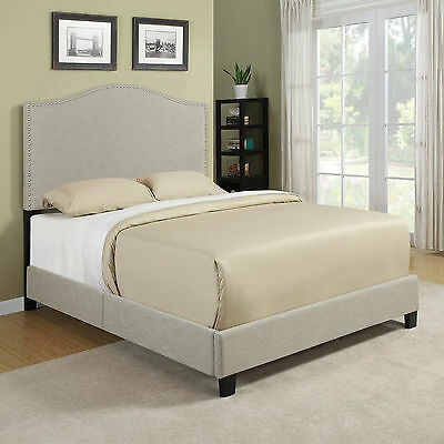 Queen Upholstered Panel Bed Handy Living FREE SHIPPING (BRAND NEW)