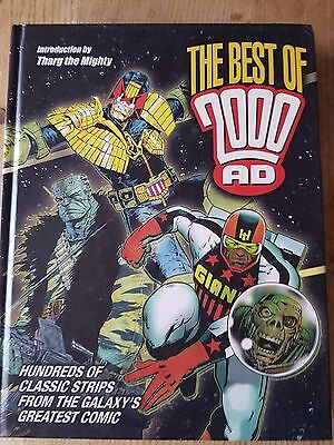 'The Best of 2000AD' Hardback Book (2008) Very Good Condition!