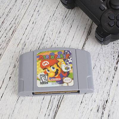 Mario Party Cartridge For Nintendo 64 N64 Card Working Good Condition US Version