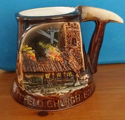 Tankard Handmade Great Yarmouth Pottery with Certificate/Story
