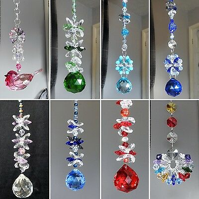 Hanging Crystal Swarovski Rainbow Maker Window Sun Catcher Mobile Home Various!!