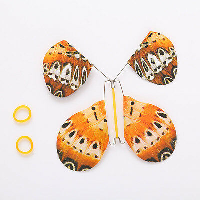 2Pcs Paper Flying Fluttering Magic Butterfly Change Empty Hands Freedom Toy