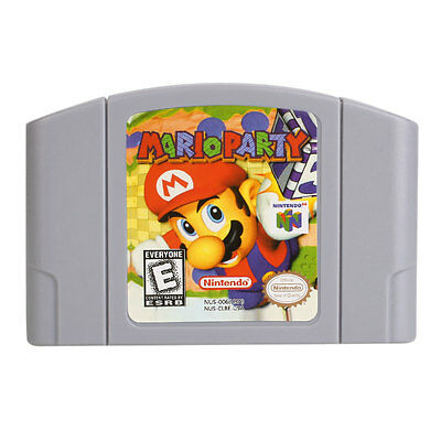 Mario Party Cartridge Only For Nintendo 64 N64 Card Good Condition US Version