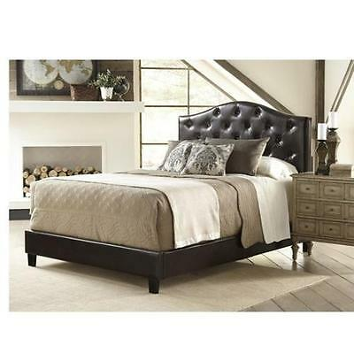 All-N-One Queen Upholstered Panel Bed PRI FREE SHIPPING (BRAND NEW)